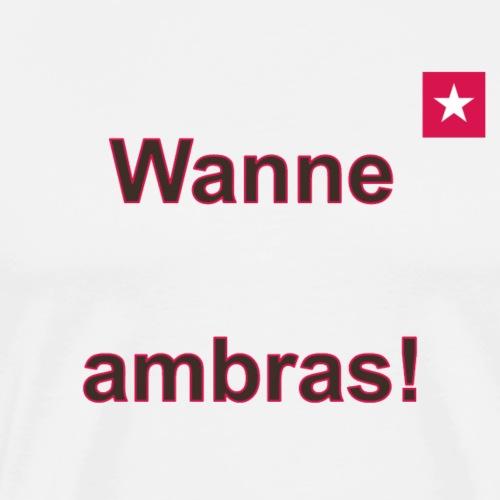 Wanne ambras verti mr def b - Mannen Premium T-shirt