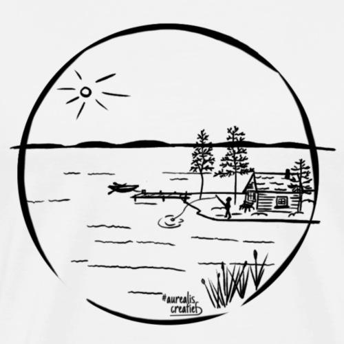 île idyllique - T-shirt Premium Homme