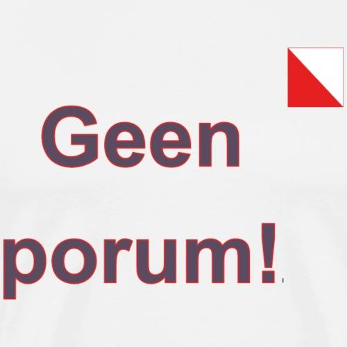 Geen porum verti def b - Mannen Premium T-shirt