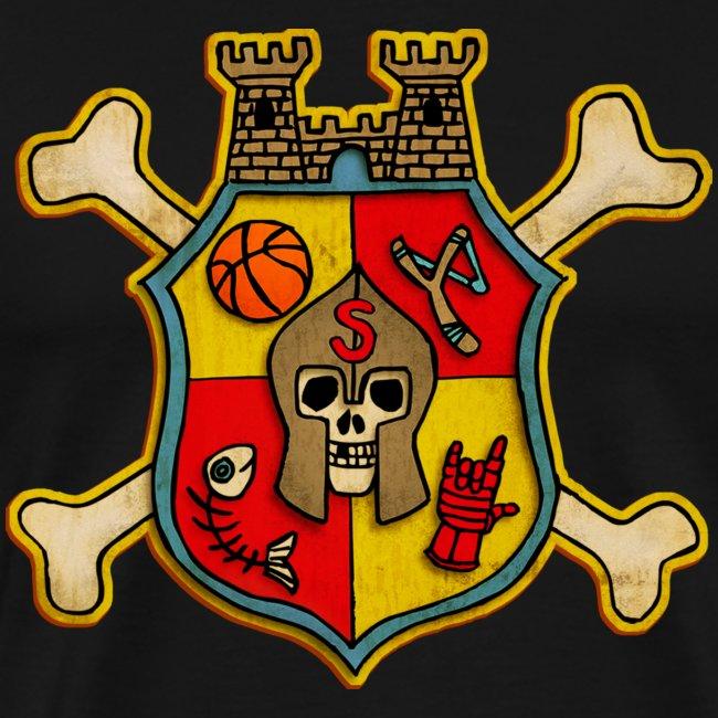 Teenager Premium T-Shirt - Wappen Burg Schreckenst