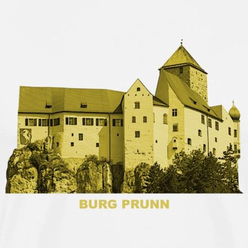 Prunn Burg Altmühltal Kelheim Riedenberg Bayern - Männer Premium T-Shirt