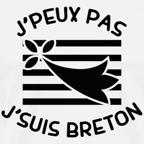 j'peux pas j'suis breton - T-shirt Premium Homme