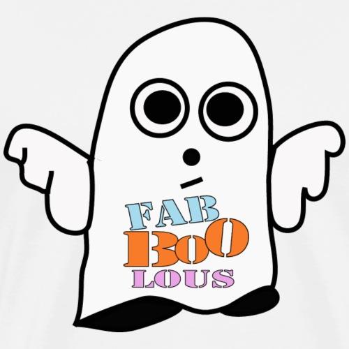 Halloween Geist BOO - Männer Premium T-Shirt