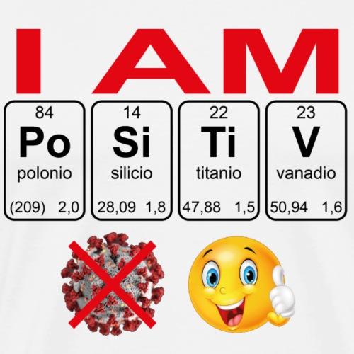 I am Positive - Koszulka męska Premium