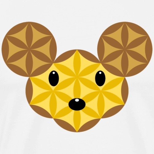 Mouse Of Life - Sacred Animals, M-02 - Men's Premium T-Shirt