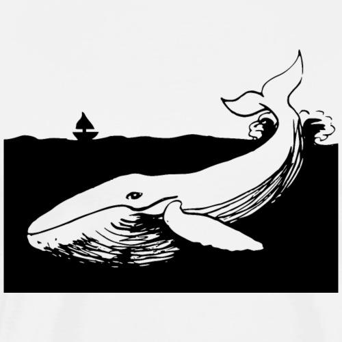 Whale - Men's Premium T-Shirt