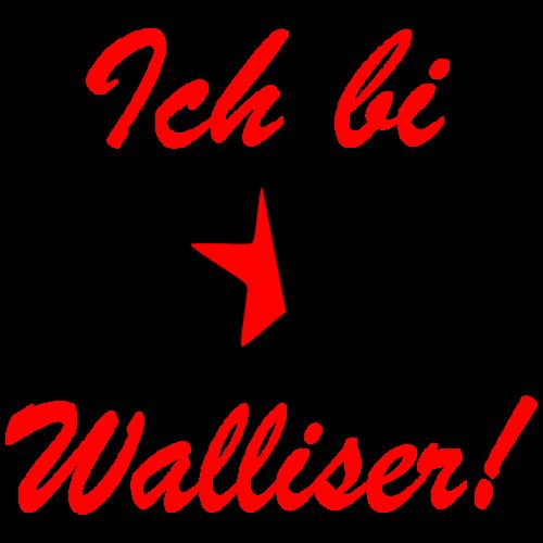 Ich bi Walliser - Männer Premium T-Shirt