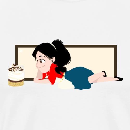 Dessertie 3 - Mannen Premium T-shirt