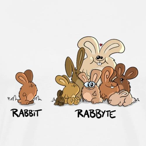 Rabbit Rabbyte - Männer Premium T-Shirt