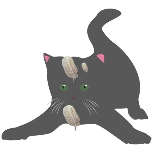 le chat joueur - T-shirt Premium Homme