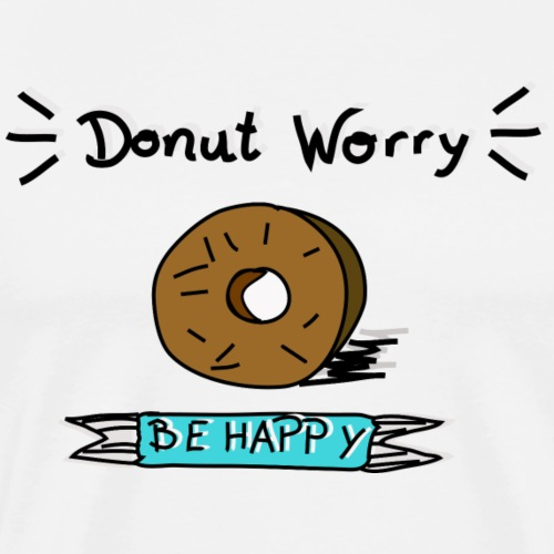 Donut - Love - Männer Premium T-Shirt