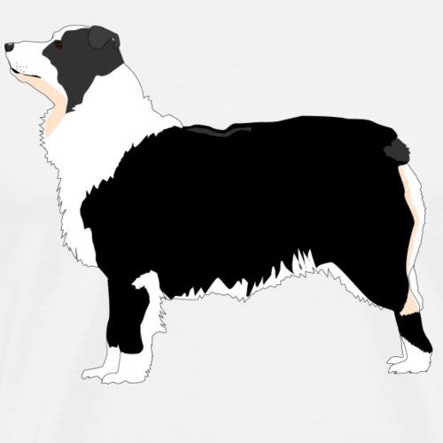 australian shepherd - Herre premium T-shirt