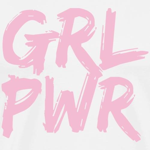 Girlpower GRL PWR - Männer Premium T-Shirt