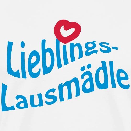 Lieblings-Lausmädle - Männer Premium T-Shirt