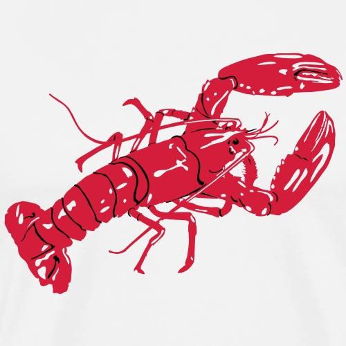 LobsterWhiteTee - Men's Premium T-Shirt