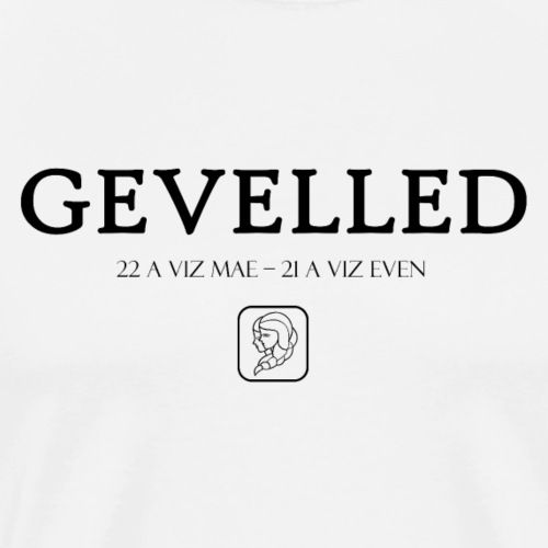 Bretagne - Gevelled - Gémeaux - T-shirt Premium Homme
