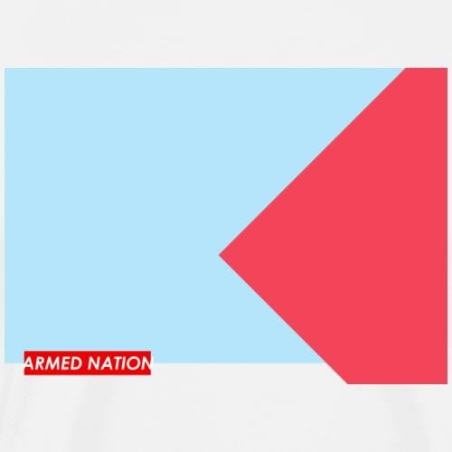 BLUE RED - ARMED NATION 2022 - Männer Premium T-Shirt