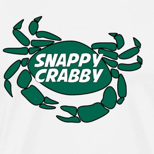 Snappy Crabby - Green - Men's Premium T-Shirt