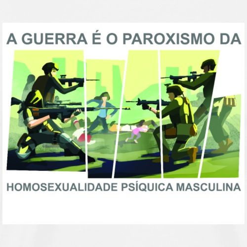 A Guerra é... - T-shirt Premium Homme