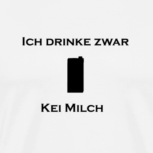 kei milch png - Männer Premium T-Shirt