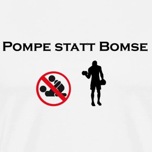 bomse png schwarz - Männer Premium T-Shirt