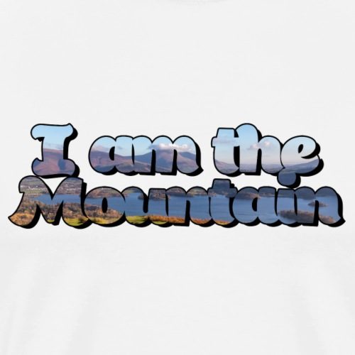 I am the mountain - Men's Premium T-Shirt