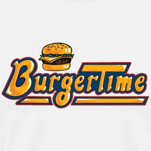 Burgertime - Männer Premium T-Shirt