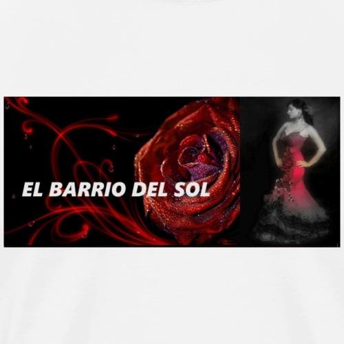 LOGO EL BARRIO DEL SOL - T-shirt Premium Homme