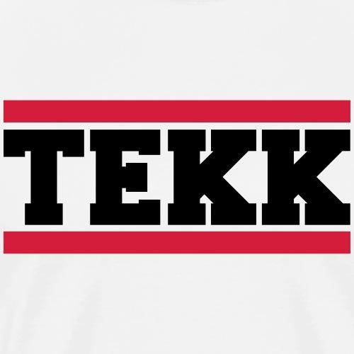 Tekk Red Stripes 2f - Männer Premium T-Shirt