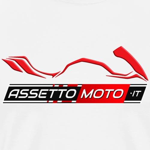 AssettoMoto.it - Logo Rosso - Maglietta Premium da uomo