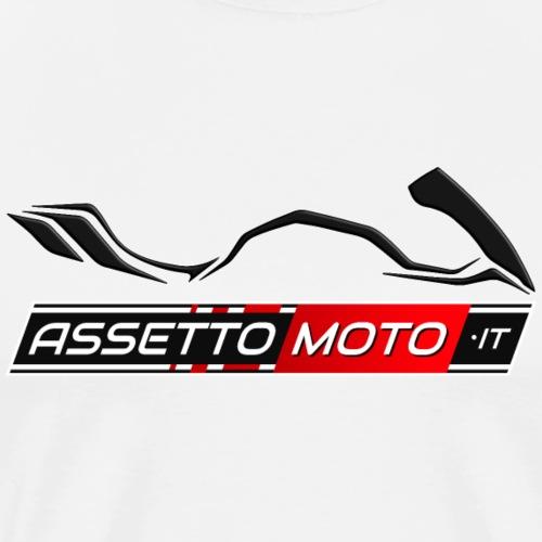 AssettoMoto.it - Logo nero - Maglietta Premium da uomo
