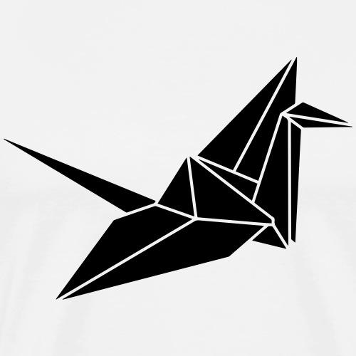 Bold Crane - Männer Premium T-Shirt