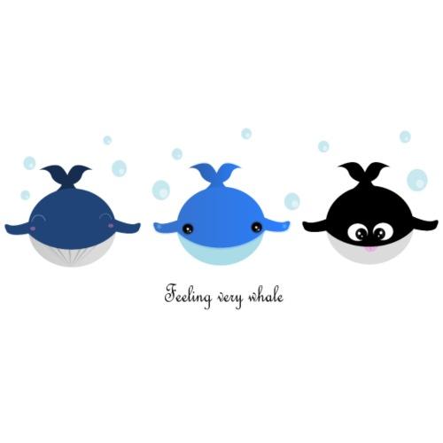 Feeling very whale