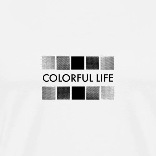 Colorful Life - Maglietta Premium da uomo