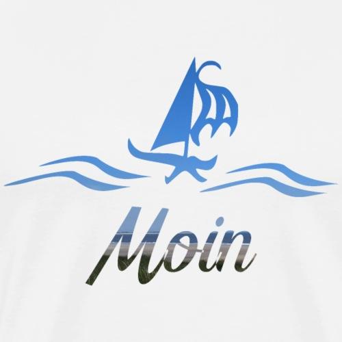 Moin mit Schiff und Meer
