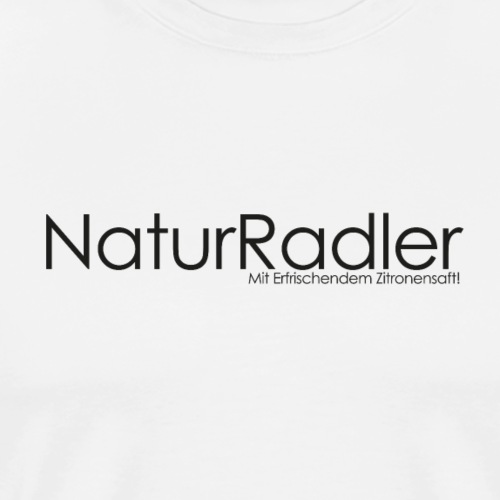 NaturRadler - Männer Premium T-Shirt