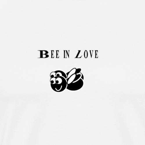 Bee in love - Männer Premium T-Shirt