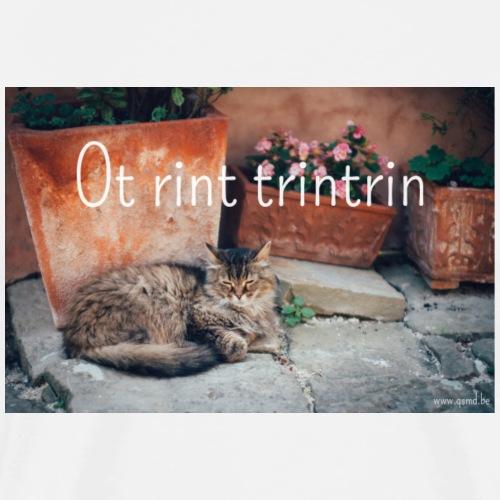 Ot rint, trintrin! - Mannen Premium T-shirt