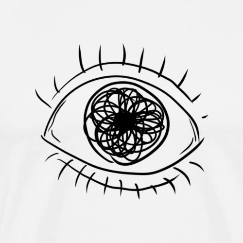 SILMÄ! - Miesten premium t-paita