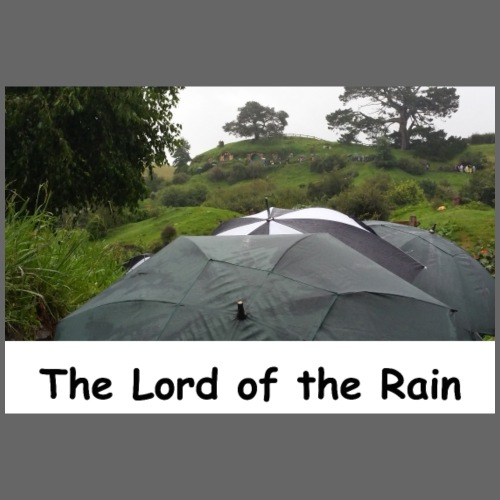 The Lord of the Rain - Neuseeland - Regenschirme - Männer Premium T-Shirt