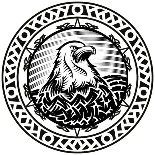 Adler Mandala Eagle - Männer Premium T-Shirt