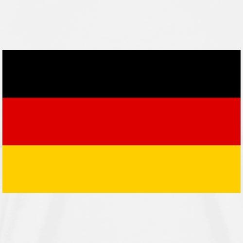 Deutschland Fahne - Männer Premium T-Shirt