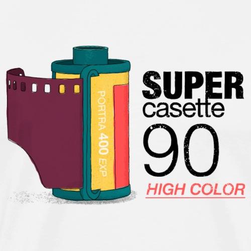 Old Foto casette. - Herre premium T-shirt