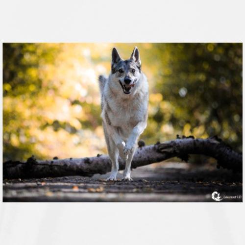 La tanière des chiens loups - T-shirt Premium Homme