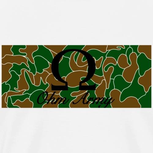 Ohm Army - Männer Premium T-Shirt