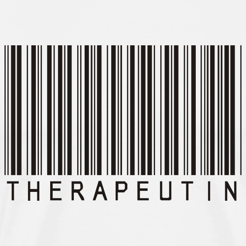 Physiotherapie Barcode Therapeutin - Männer Premium T-Shirt