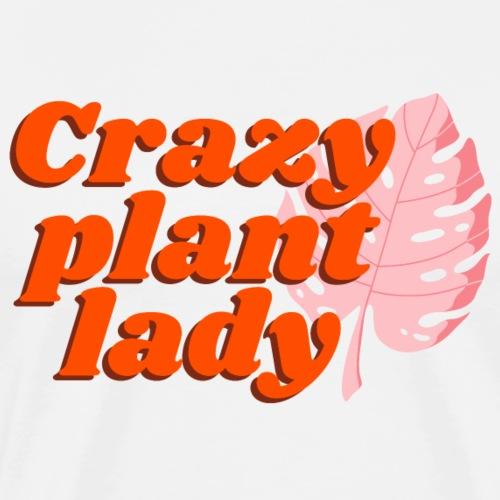 Crazy Plant Lady - Männer Premium T-Shirt