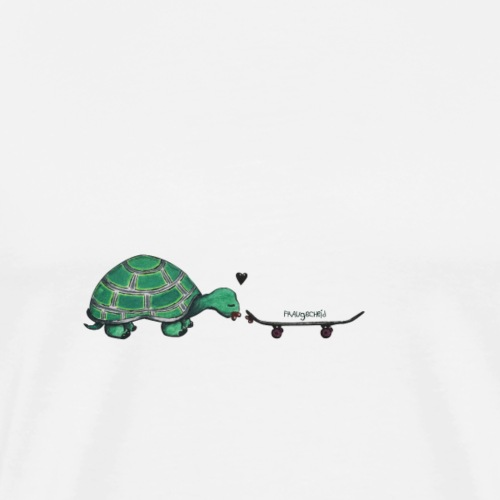 turtle in love - Männer Premium T-Shirt