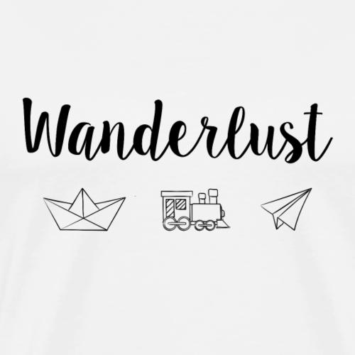 Wanderlust - Men's Premium T-Shirt