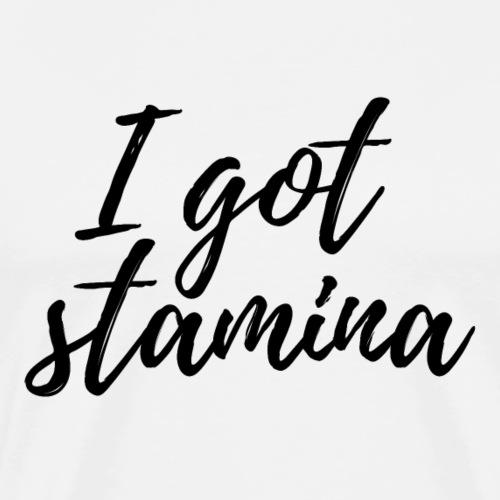 stamina - Männer Premium T-Shirt